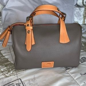 Dooney and Bourke Patterson leather Kendra satchel